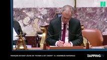 """François de Rugy lâche un """"Putain il est chiant"""" à l'Assemblée nationale (vidéo)"""