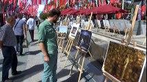 15 Temmuz Gazisi, İhlas Haber Ajansı'nın Fotoğraf Sergisini Gezdi