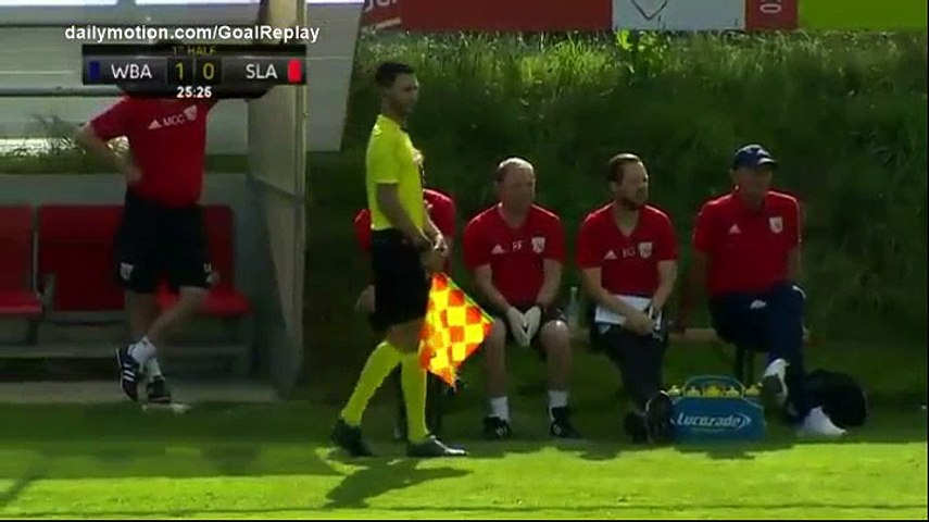 James McClean Goal HD - Slavia Prague 0 - 1 West Brom - 12.07.2017 (Full Replay)