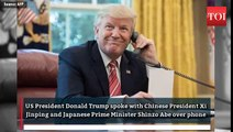 Xi Jinping: North Korea issue: Trump speaks with Xi Jinping, Shinzo Abe
