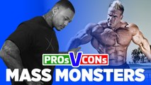 The Pros And Cons Of Being A Mass Monster | Pros Vs Cons
