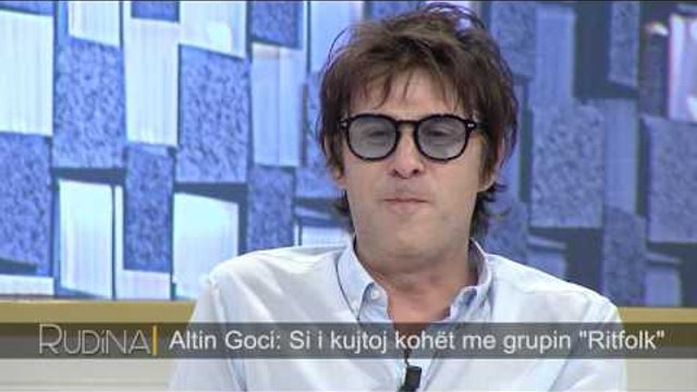 Rudina - Altin Goci, kantautori shqiptar flet për rrugëtimin e tij në muzikë! (12 korrik 2017)