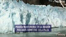 Iceberg del tamaño de cuatro urbes como Ciudad de México se desprende de la Antártida