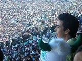 ambiance supporteurs raja casablaca derby 2007