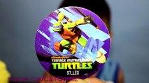 Par par des œufs moitié héros pâte à modeler coquille jouets tortues avec Ninja surprise ninja kidcit