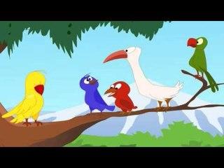 The Deceitful Bird in Marathi - Jataka Tales