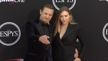 Jeremy Renner and Elizabeth Olsen 2017 ESPY Awards Red Carpet