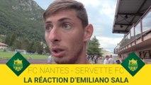 FC Nantes - Servette FC : la réaction d'Emiliano Sala