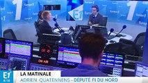 Donald Trump, code du Travail, gouvernement : Adrien Quatennens répond aux questions de Maxime Switek