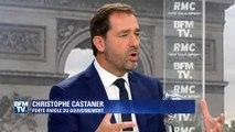 """Castaner: un service militaire universel  pour """"empêcher toute forme de radicalisation"""""""