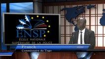 Présentation de l'ENSP aux auditeurs étrangers