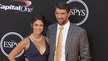 Michael Phelps and Nicole Johnson 2017 ESPY Awards Red Carpet