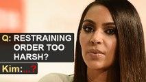 Kim Kardashian SHOCKING Reply On Rob Kardashian Restraining Order By Blac Chyna