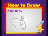 Learn to Draw Animals - Butterfly