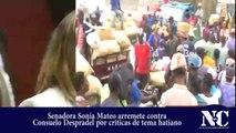 Senadora Sonia Mateo arremete contra consuelo despradel por tema haitiano