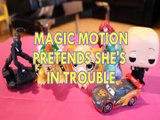 MAGIC MOTION PRETENDS SHE'S IN TROUBLE SPIDERMAN BOWSER LITTLEST PET SHOP ARIEL BOSS BABY Toys Kids Video DISCOVERY FAMI