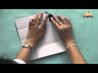 Origami - Origami in Sindhi - Business Card Holder