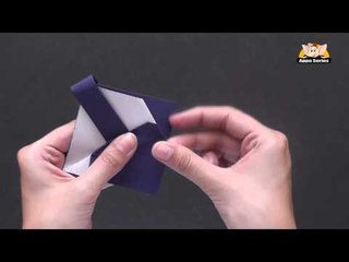 Origami - Origami in Sindhi - How to make a Basket