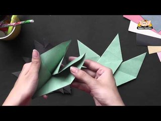 Origami - Origami in Sindhi - Lets make an 8 point star