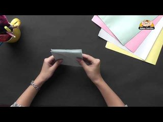 Origami - Origami in Sindhi - Make a Boat with a Knife