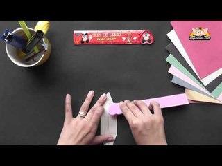 Origami - Origami in Sindhi - Make a Canoe