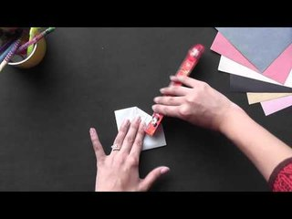 Origami - Origami in Sindhi - Make a Lotus with 8 petals...