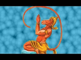 Lord Hanuman in Sindhi