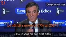 Déficit, dépenses publiques: oui M. Macron, François Fillon avait raison