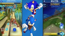 Sonic Dash vs Sonic Dash 2 Sonic Boom Whos the best Shadow? / Shadow vs Shadow