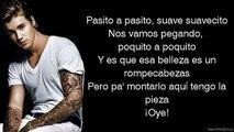 Justin Bieber Despacito (Lyrics On Screen) ft. Luis Fonsi, Daddy Yankee
