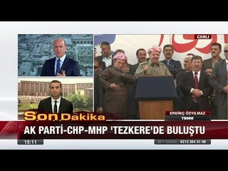 "Ak Parti - CHP - MHP ""Tezkere""de buluştu!  - 22 Eylül 2017"