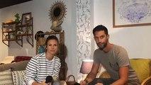 """Lorie Pester de la série """"Demain nous appartient"""" était en live sur le Facebook de My TF1"""