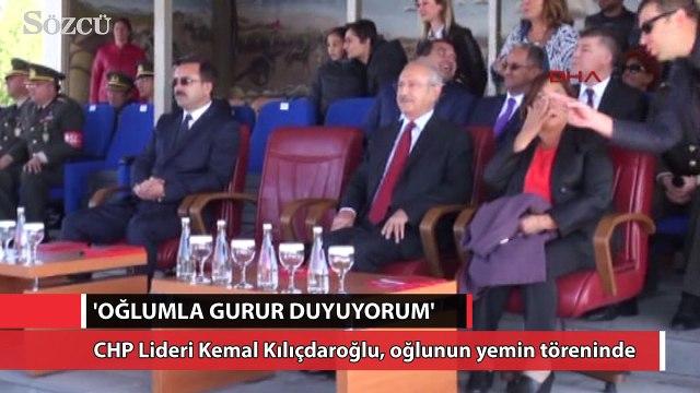 CHP Lideri Kemal Kılıçdaroğlu, oğlunun yemin töreninde