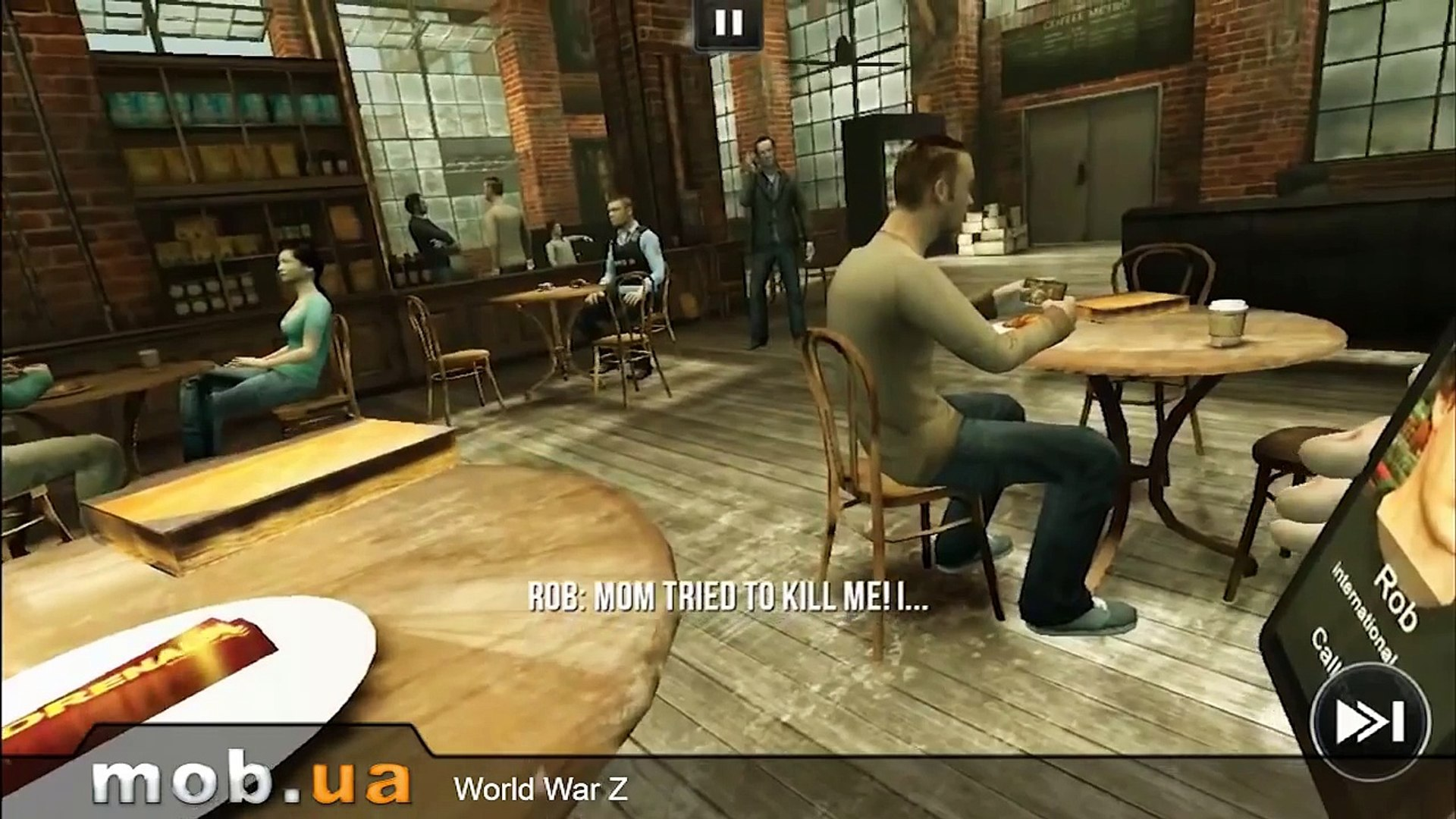 Обзор игры Война Миров Z (World War Z) на Android - mob.ua