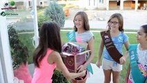 GIRL SCOUTS COOKIE OVEN | How to make Thin Mints cookies