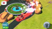 Cars Lightning McQueen NEON Unlocked vs NEON Tow Mater Fast as Lightning NEON RACING!