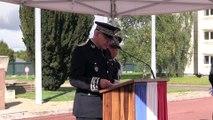La 22e promotion d'officiers de police reçoit solennellement son nom de baptême