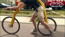Voici Fliz, le vélo sans selle ni pédales...