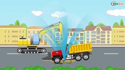 Мультфильмы про Машинки Трактор Павлик Красный Бульдозер Развивающие мультики для детей