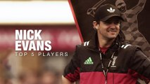 Nick Evans' top five rugby players