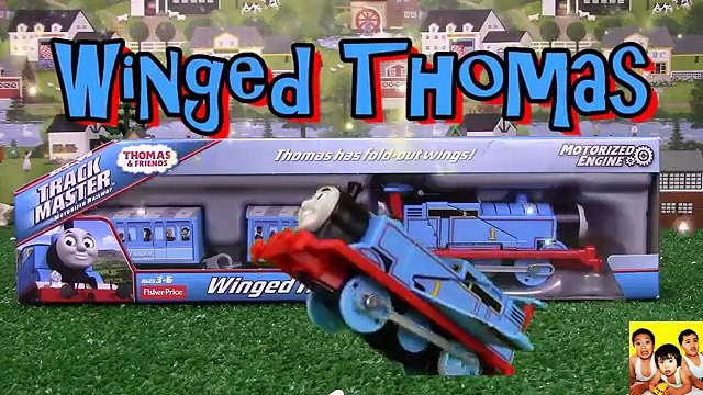 Thomas and Friends Trackmaster Winged Thomas|Thomas and Friends toy trains|Thomas & Friends