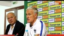 Bulgarie - France. Deschamps : «Ce n'est pas en ayant peur que...»