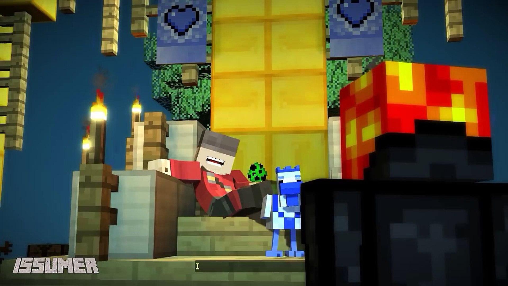 Itsjerryandharry Conflict Itsjerry Vs Itsharry Fight Minecraft