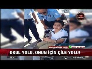 Engelli Muhammed'in dramı! -  3 Ekim 2017