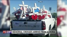 Illinois Man Arrives in Las Vegas with Handmade Crosses to Honor Shooting Victims
