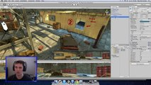 Lets Make Call of Duty Zombies in Unity 3D Tutorial: Part 4 Game Map and FPS Controls