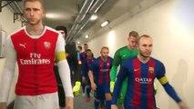 Pro Evolution Soccer 2017 - Tiki Taka - FC Barcelona vs Arsenal FC (PlayStation 4 Gameplay)