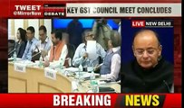 Latest news !!!! GST Council meet: Rates for 27 items slashed; e-wallet for exporters