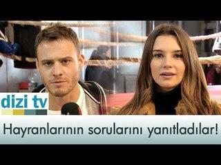 Kerem Bürsin ve Leyla Lydia Tuğutlu hayranlarının sorularını yanıtlıyor! - Dizi Tv 546. Bölüm - atv
