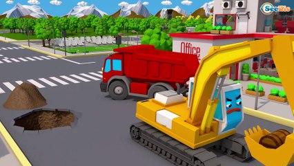 Caminhão FORTE para crianças - Como Transportar Carros em Caminhão - Veículo de Construção